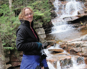 Dr. Piecyk has been able to resume hiking, an activity she loves.
