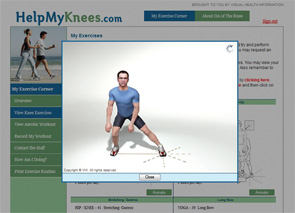 The website being evaluated in the PATH-IN study includes videos that demonstrate proper techniques.
