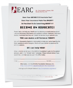 Figure 1: Draft Call to Advocacy Letter