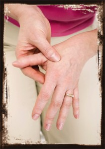 RA is typically symmetric and, early on, usually involves the small joints of the hands and feet.