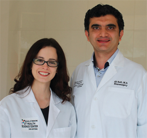 Dr. Seifi (right) with Dr. Rodriguez.