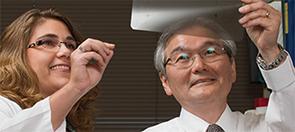 Dr. Yokoyama, MD, with Jennifer Laurent