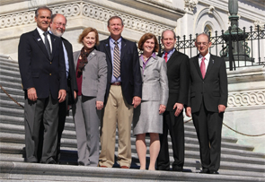 The ACR Executive Committee on Capitol Hill in October 2015.
