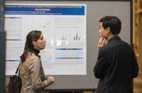 Dr.Le attended the ACR's Rheumatology Research Workshop, which is held in conjunction with the Foundation's Investigators' Meeting. He used the opportunity to network with others in the field, such as Sarah Veloso Nogueira, PhD.