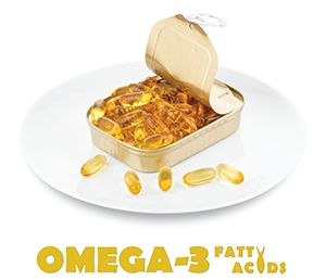 A study of people at risk of RA found that taking omega-3 fatty acid supplements was linked to a lower chance of being RF positive.