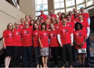 ACR volunteer leaders kick off RDAM 2017.