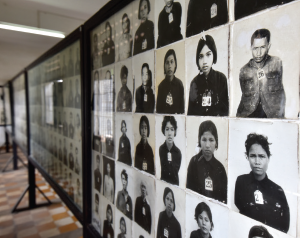 The Tuol Sleng Genocide Museum is a museum in Phnom Penh, chronicling the Cambodian genocide.