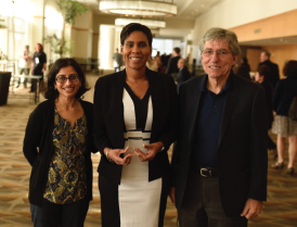 The Foundation hosted 155 award and scholarship recipients at the annual Awards Luncheon.