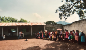 During a volunteer mission in Guatemala, people lined up for hours to see a doctor.