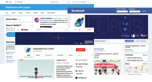 Social Media Campaign for Latin Lupus Sufferers