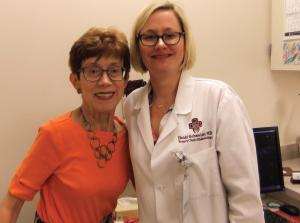 Sarah Troxell and Heidi Schneider, MD