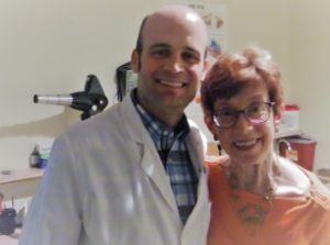 Richard Moore, MD, and Sarah Troxell