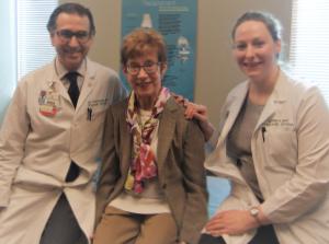 Jorge Casas-Ganem, MD, Sarah Troxell and Jennifer Reed, PA