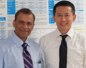 Dr. Singh (left) and Dr. Yen (right)