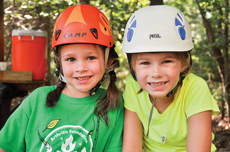 Helmets are required for certain camp activities, such as zip lining, to ensure a safe and secure camping experience.
