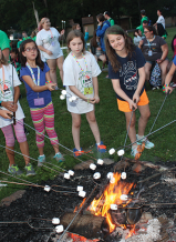 Campers get the chance to enjoy simple pleasures, such as making friends and figuring out the perfect way to toast marshmallows.
