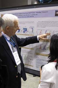 Dr Mart Mannik at poster photo