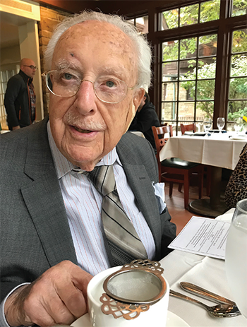 Dr. Caplan turned 106 on Nov. 21 and remains physically and mentally active.