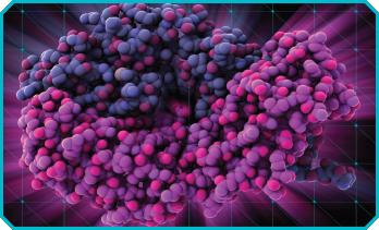 An ustekinumab molecule.