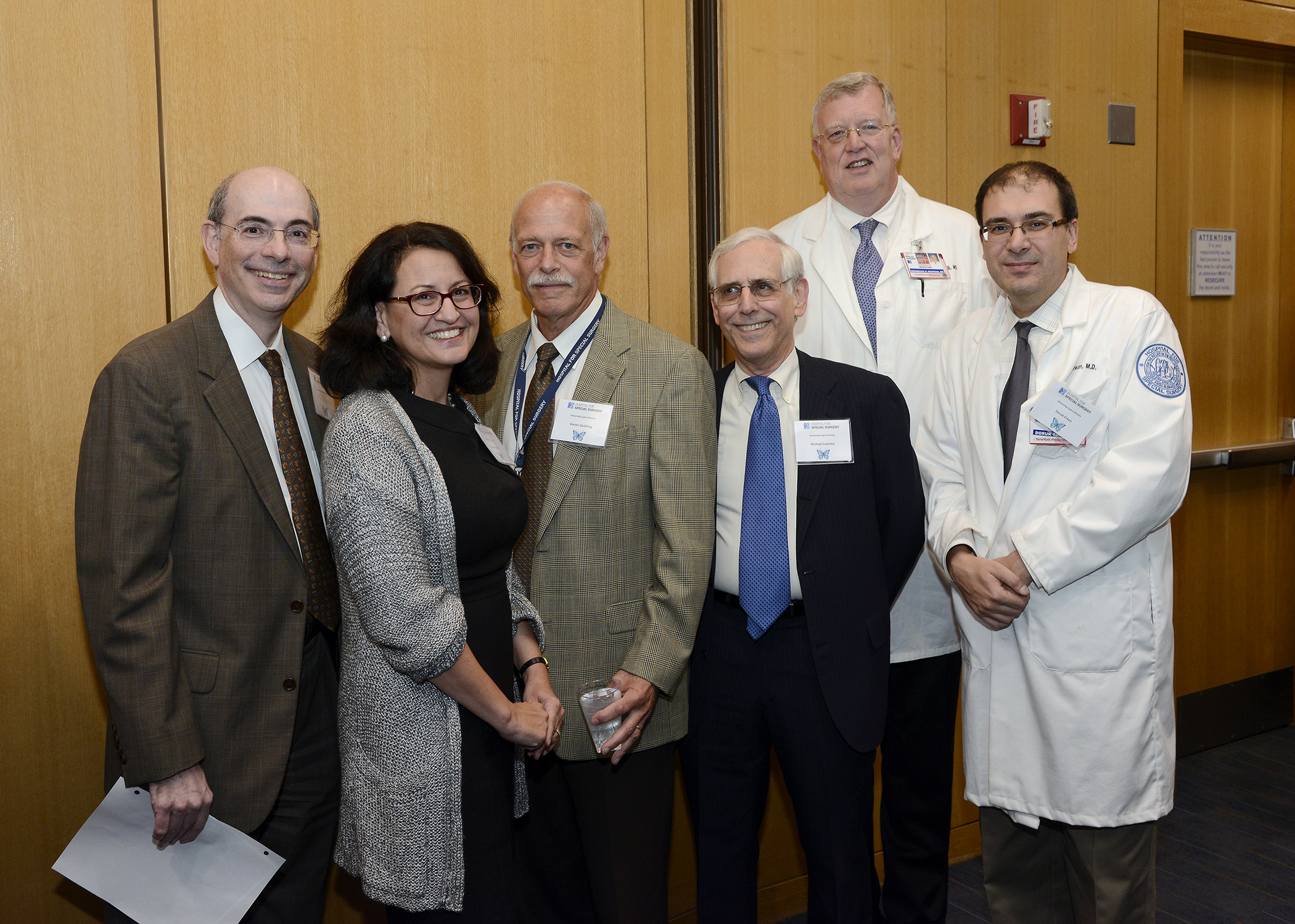 "The physicians of Hospital for Special Surgery's Division of Rheumatology honored the contributions of lupus patients at the ""Honoring Lupus Heroes"" event."