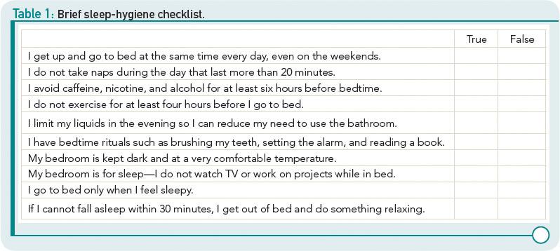 Sleep Hygiene Checklist Related Keywords Suggestions Sleep – Sleep Hygiene Worksheet