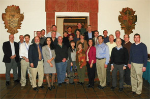 Researchers at the ACR REF Disease-Targeted Research Investigators' Meeting in Santa Fe, N.M.