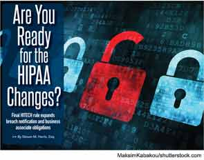 Are You Ready for the HIPPA Changes?