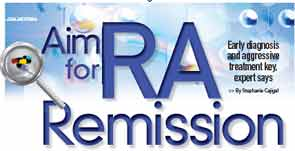 Aim for RA Remission