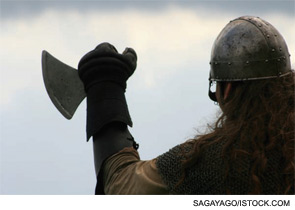 Perhaps the genes that cause certain rheumatic disorders afforded the Vikings a competitive advantage against their foes