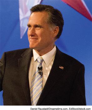 Mitt Romney, former Governor of Massachusetts