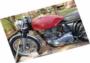BSA Gold Star special.
