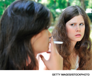 Smoking leaves an indelible stain on hands, in mouths, lungs, hearts, arteries and even in joints.