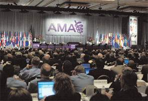The AMA House of Delegates met in Chicago this June to discuss advocacy efforts.
